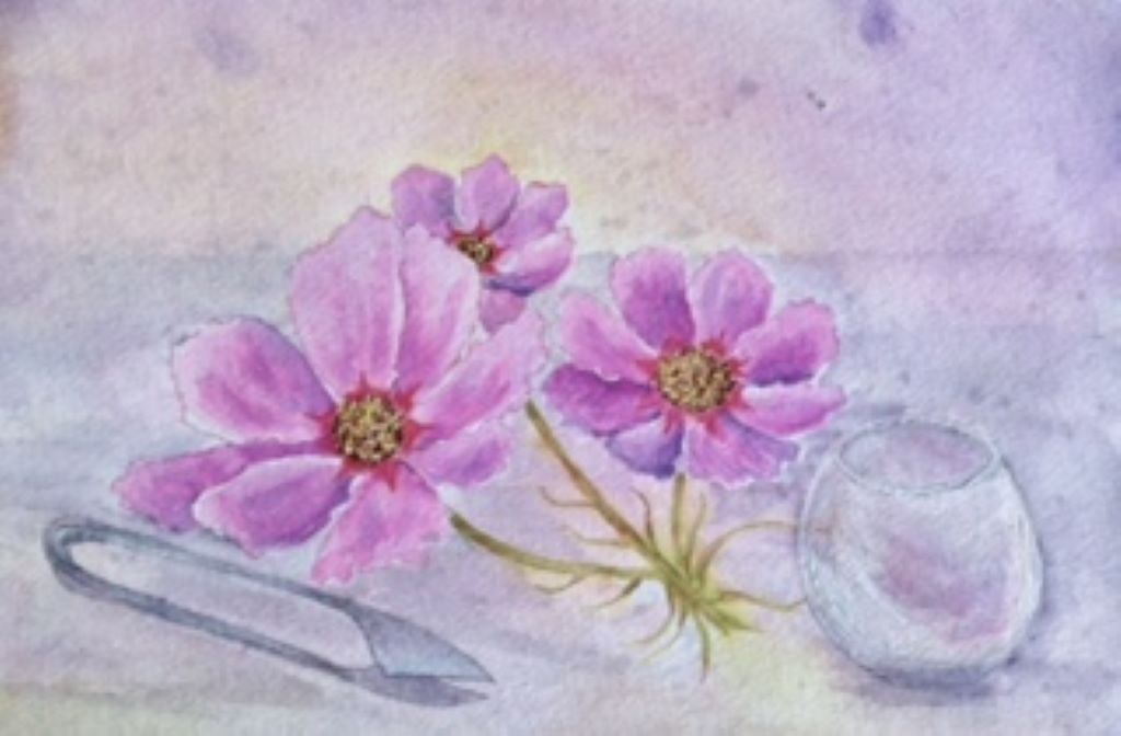 Last of the Summer Flowers by Susan Ware