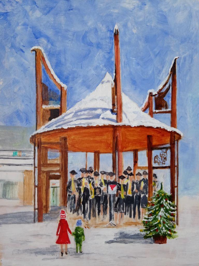 Celebrating Christmas in Fareham by Carole Jarman