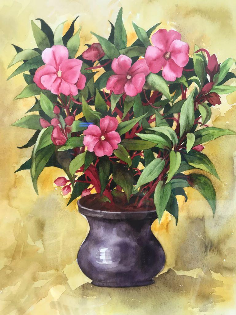 Flowers by Jenny Gibbs