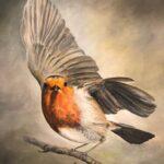 Friendly Robin by Marguerite Payne