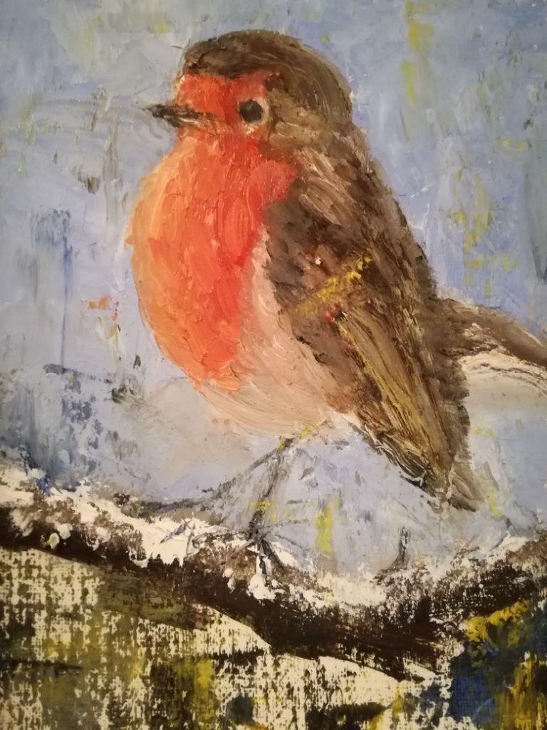 Lil Robin by Karen Dobbins