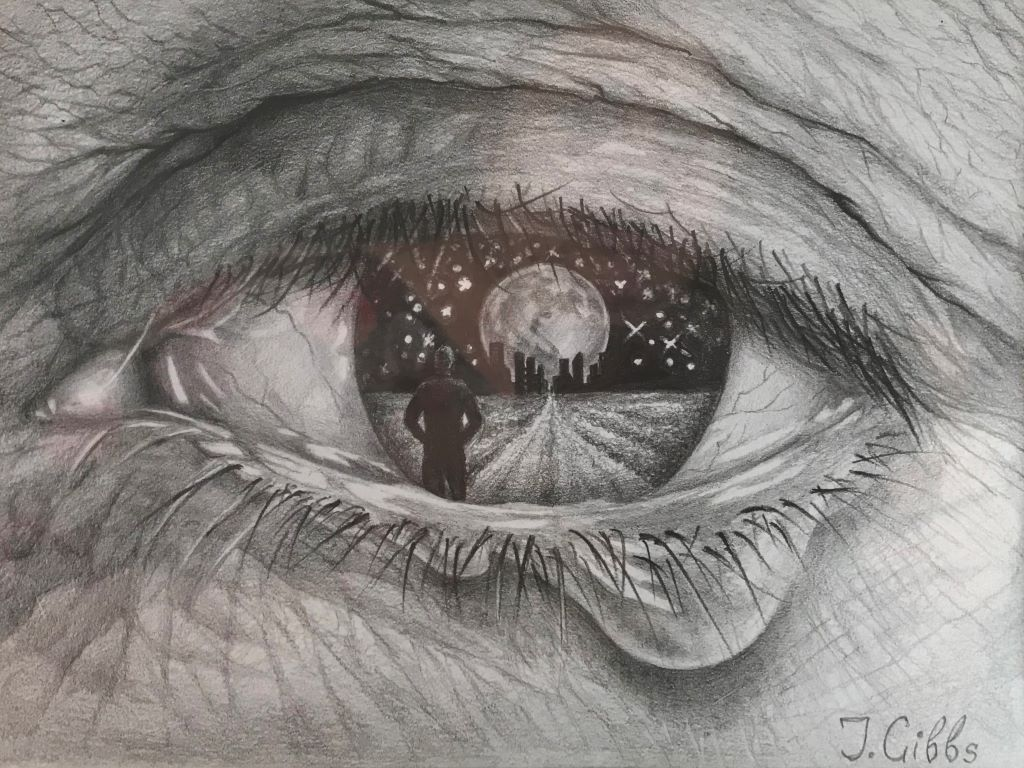 Mother's eye by Jenny Gibbs
