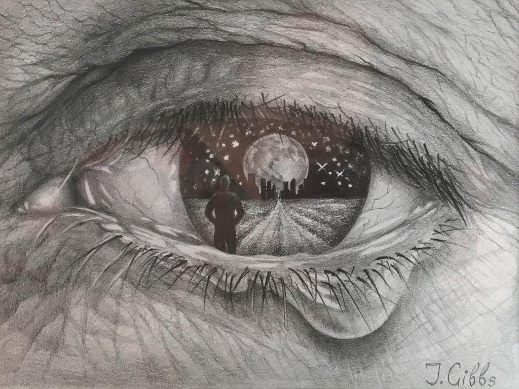Mother's eye by Jenny Gibbs