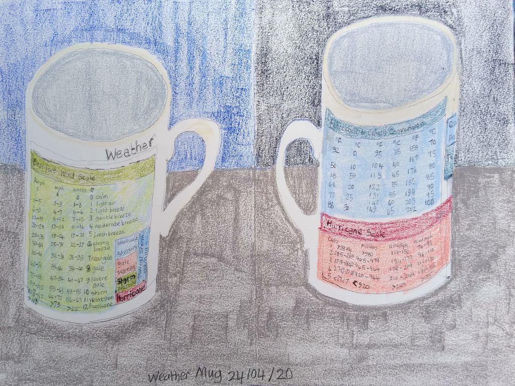 Mug by Joan Lee