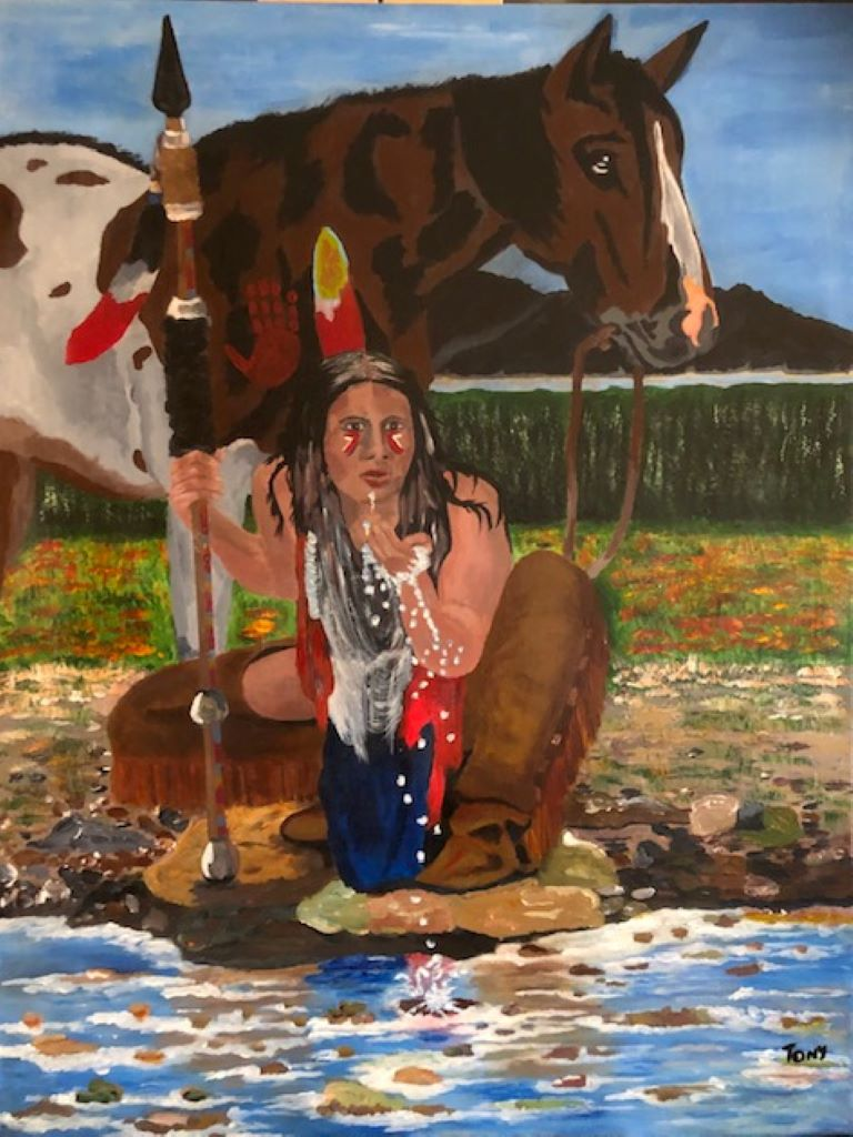Native American by Tony Bevel