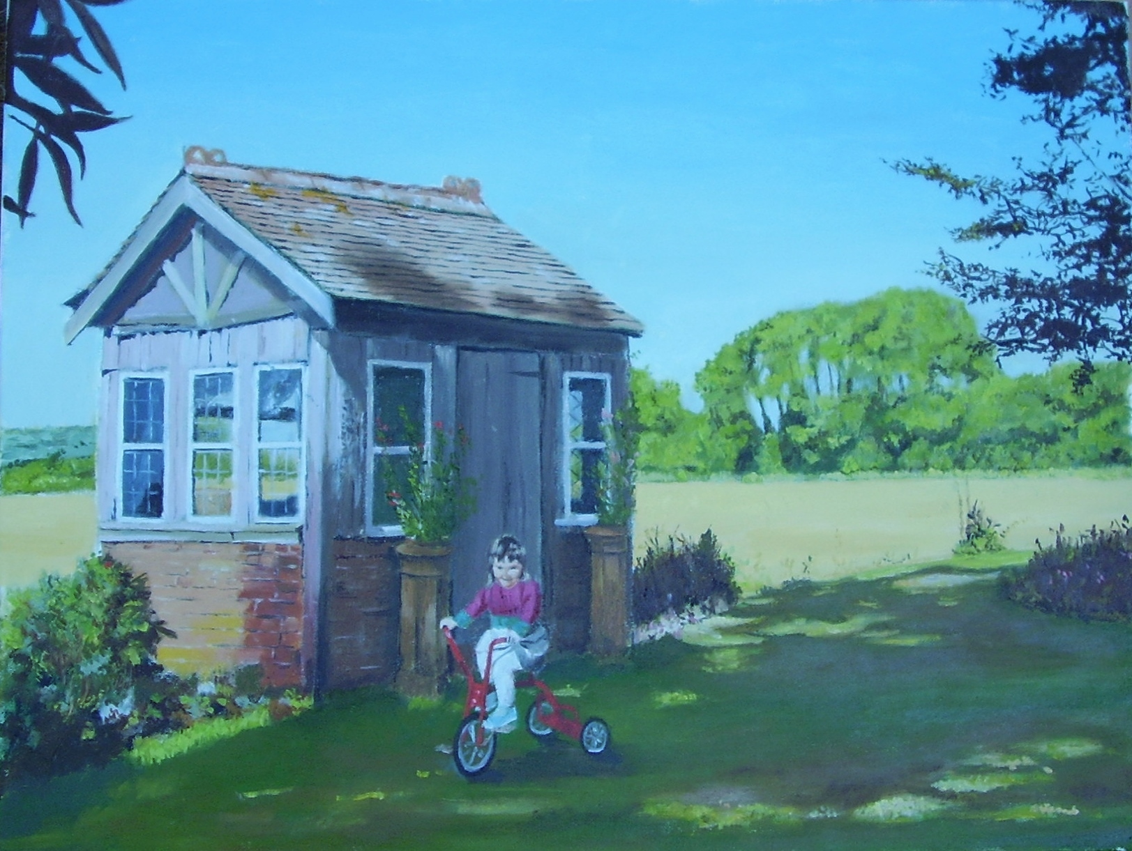 Old Garden House by E Baker