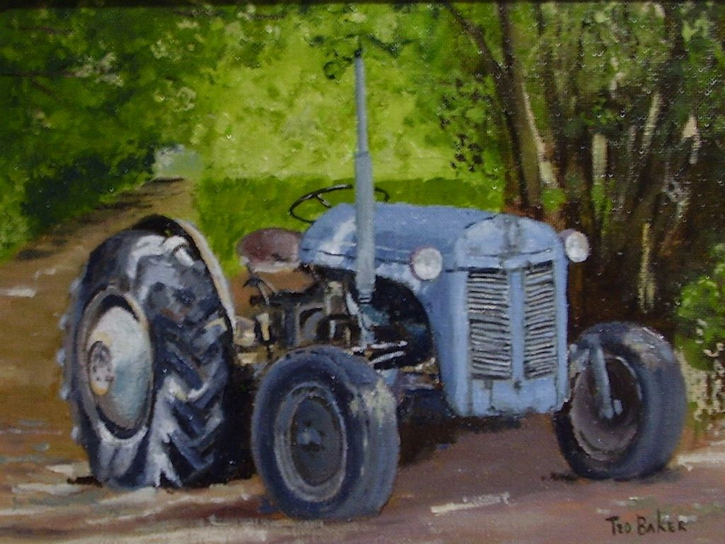 Old Tractor by Ted Baker