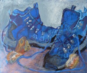 Old stones, New Boots by Joan Lee
