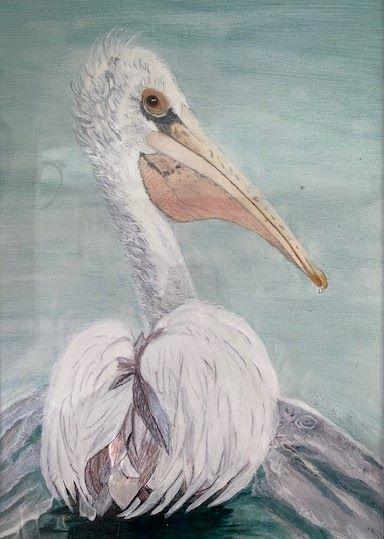 Pelican by Ros Croft