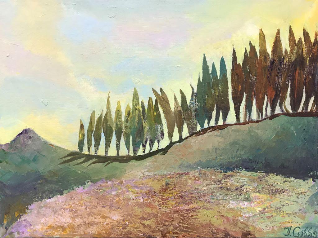 Pine Trees by Jenny Gibbs