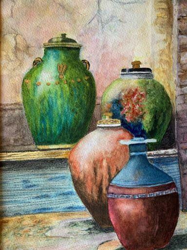 Pots by Cynthia Venn