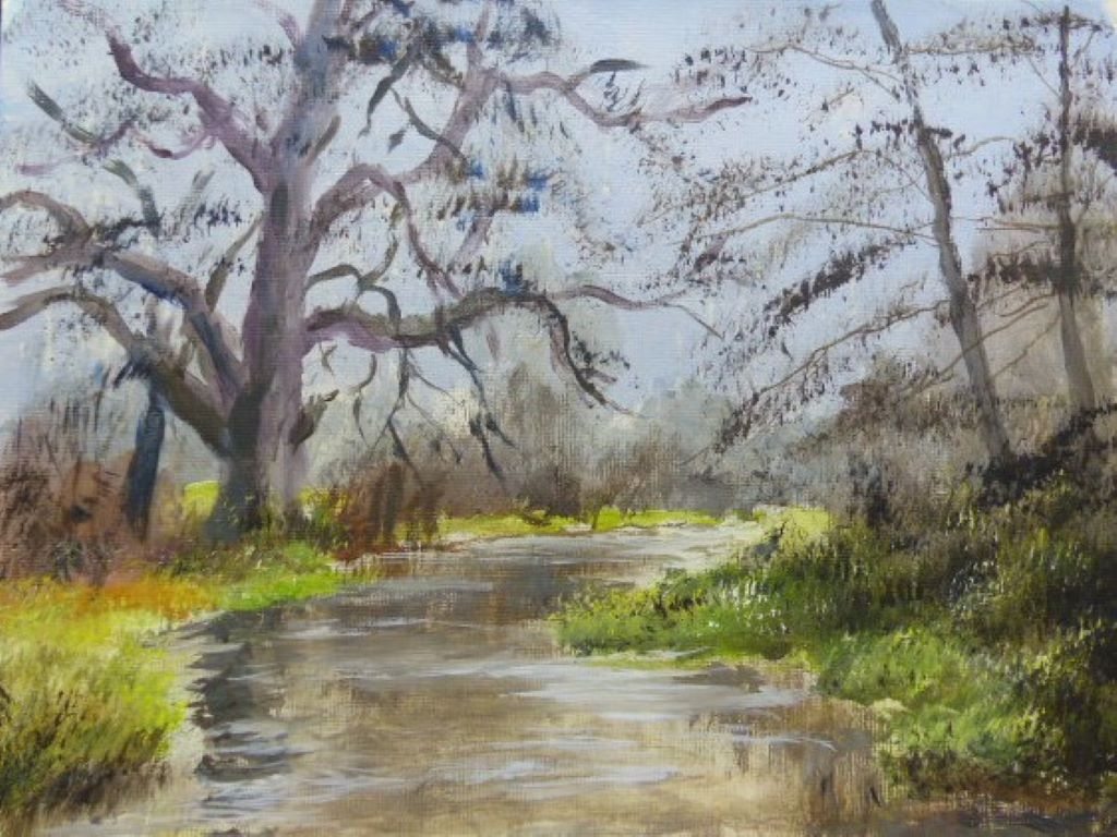 River Itchen, Twyford by Bruce Humphreys