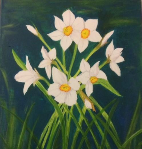 Daffodils by Ros Croft