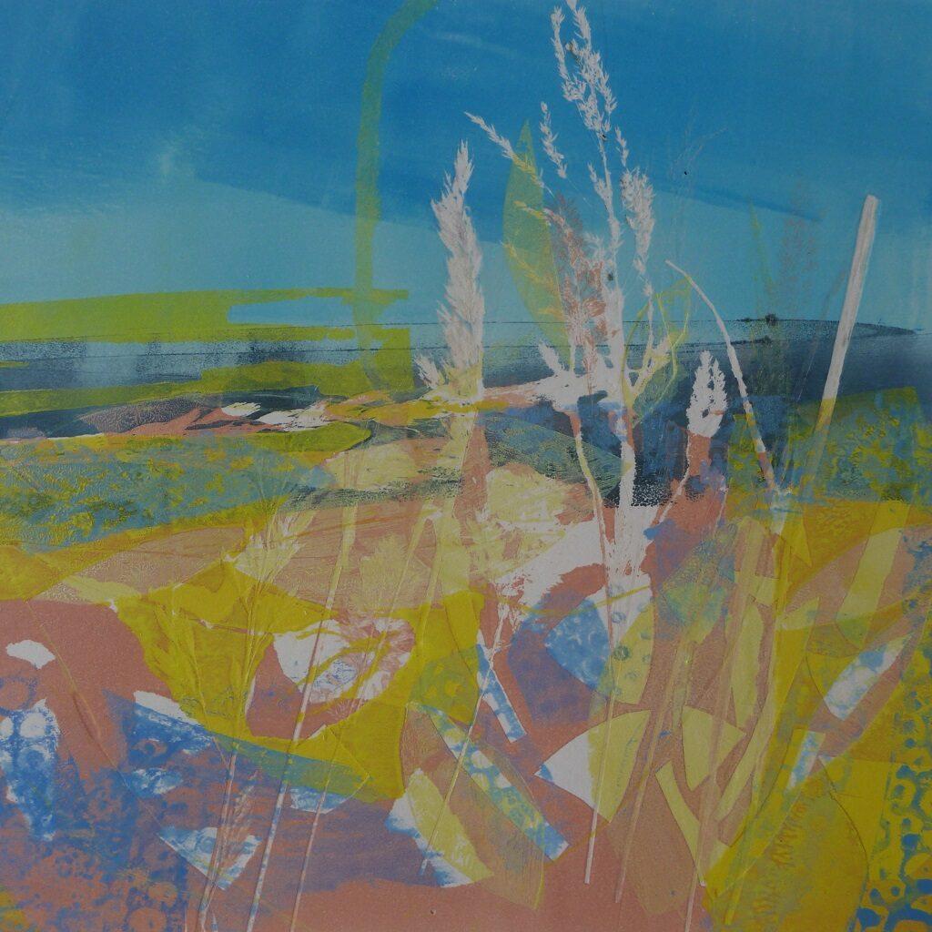 Summer Downland by Joan Lee