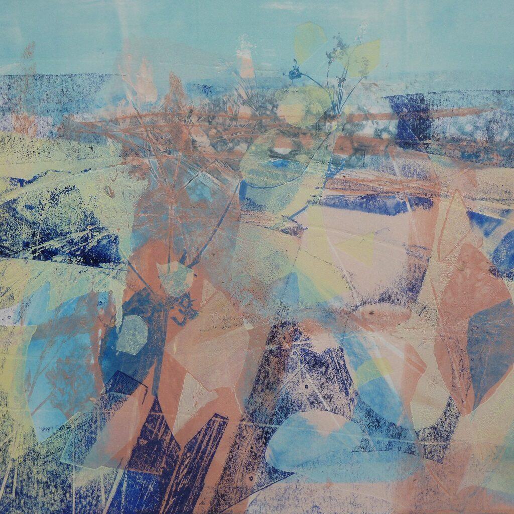 Summer Downland (2) by Joan Lee