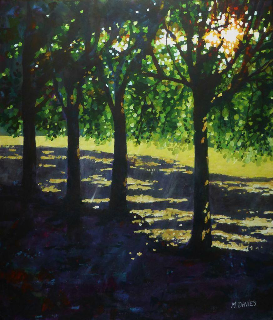 Summer Shade by Mark Davies