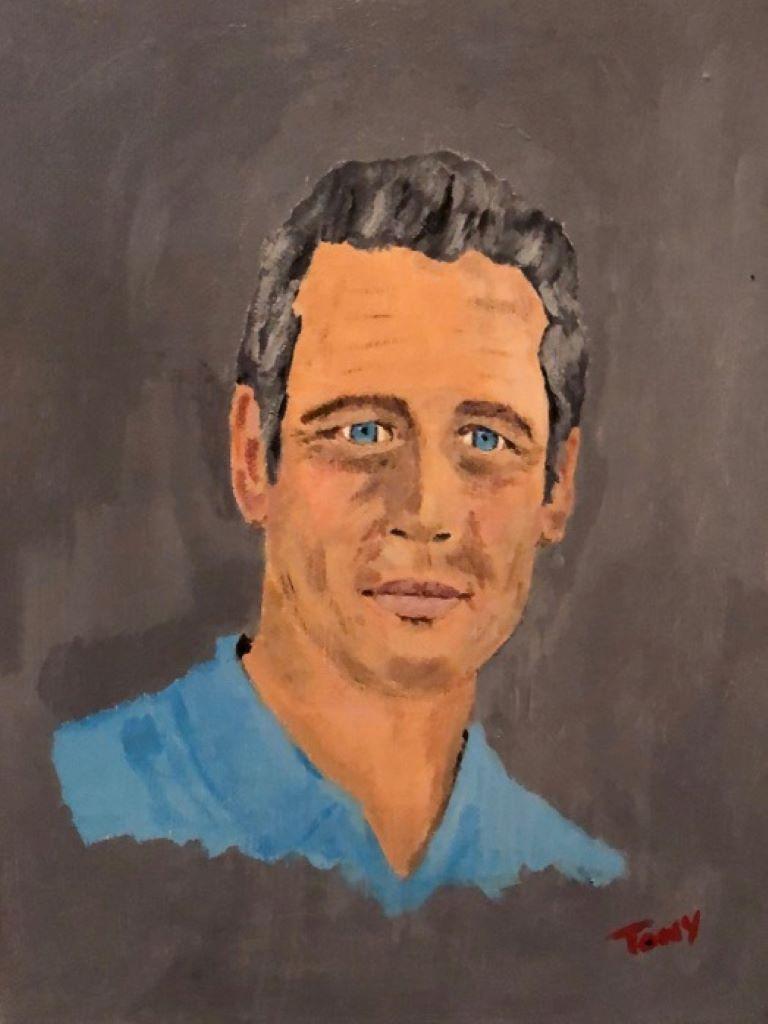 Paul Newman by Tony Bevel