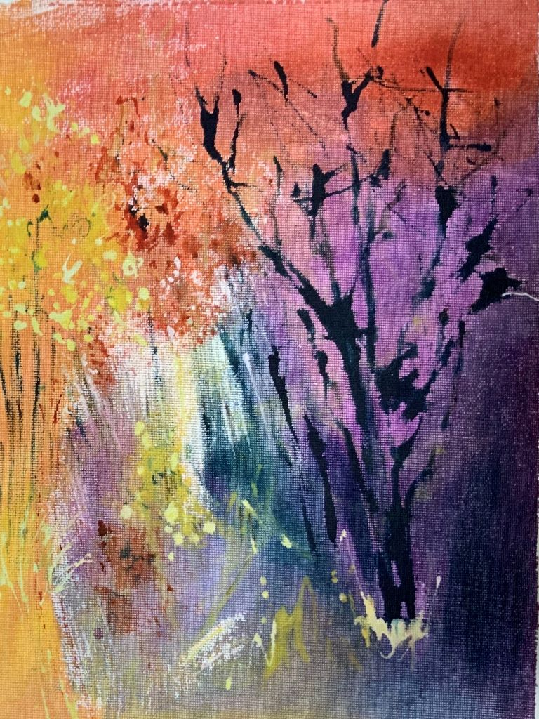 Trees 10 by Sue Burgess