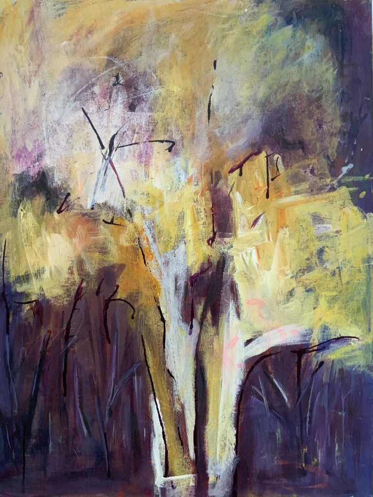 Trees 5 by Sue Burgess