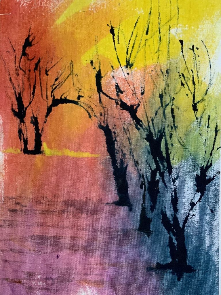 Trees 9 by Sue Burgess