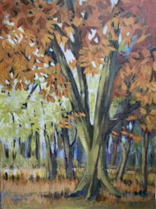 Trees by Sue Burgess