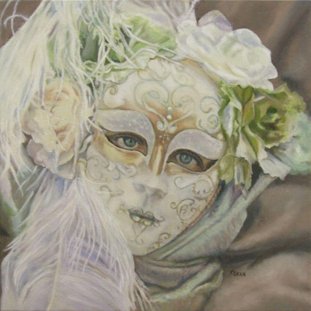 Venetian Mask III by C Dear