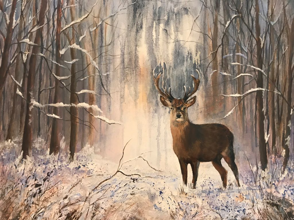 Winter in the New Forest by Heather Jay
