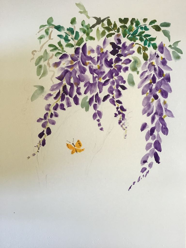 Wisteria by Elaine Higgins
